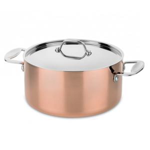 koperen pan