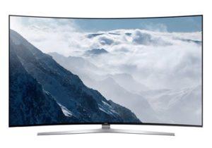 Samsung UE78ks9500 - grote curved TV