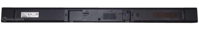 Samsung HW K335 Soundbar – onderaanzicht