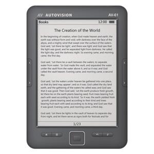 Autovision Av 61l Goedkope E Reader