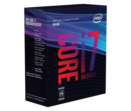 Intel Core I7 8700k Beste Gaming Processor