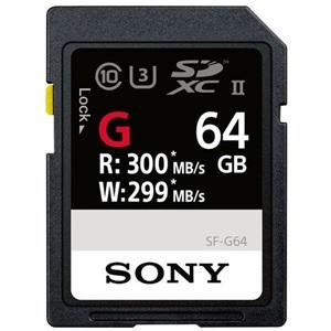 Sony SF-G Series UHS-II - snelste SD kaart