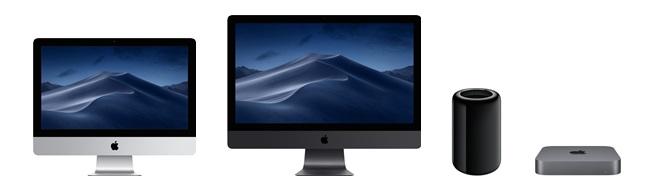Apple Desktop Computers Imac Imac Pro Mac Pro Mac Mini