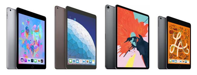Apple Ipad Ipad Air Ipad Pro Ipad Mini
