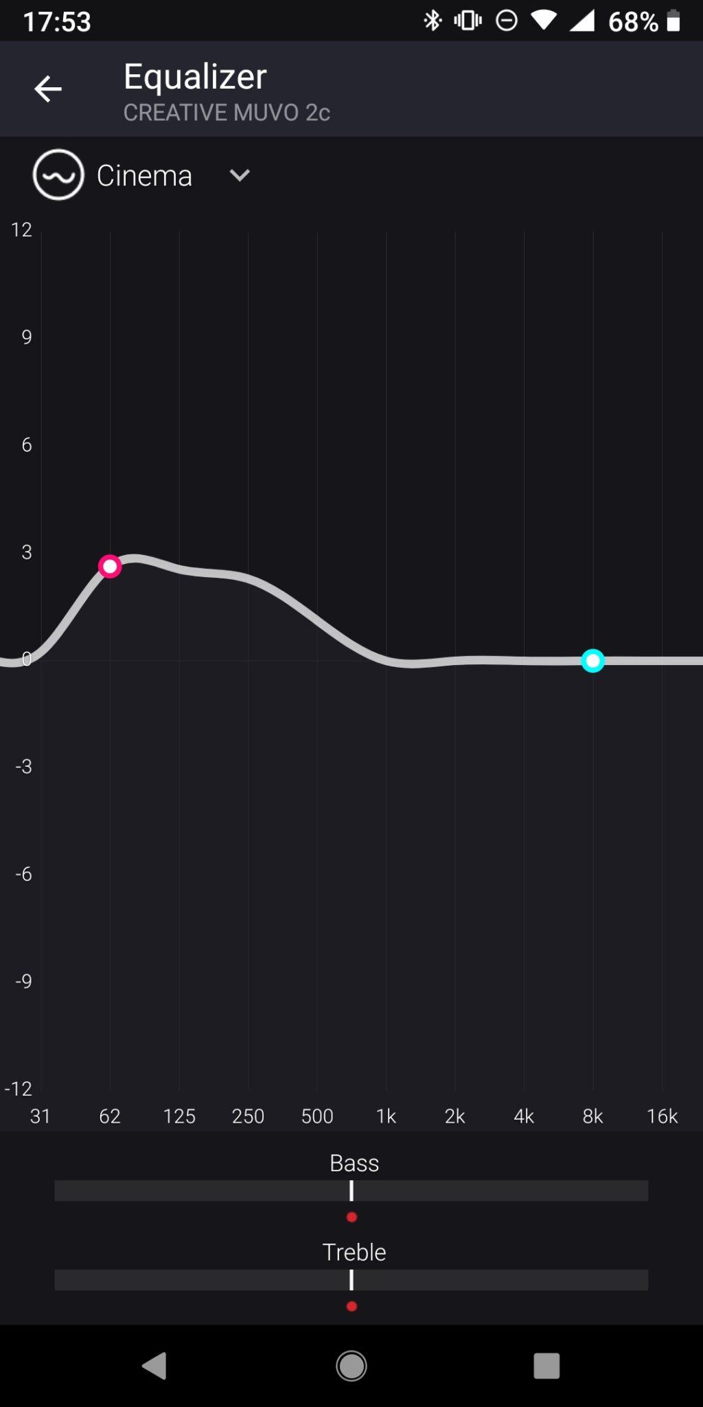 Creative Muvo App