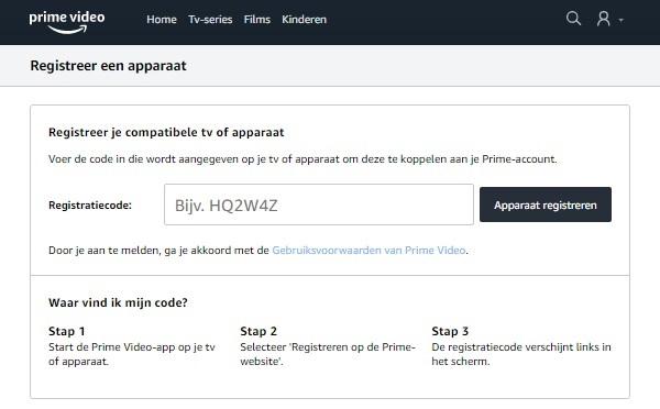 Amazon Prime Video Tv Verificatie2