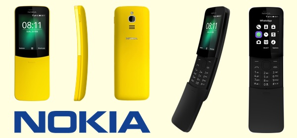 Nokia 8110 Goedkope Telefoon Whatsapp