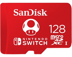 Sandisk Nintendo Switch 128gb Micro Sd