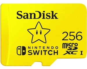Sandisk Nintendo Switch 256gb Micro Sd