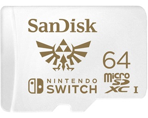 Sandisk Nintendo Switch 64gb Micro Sd
