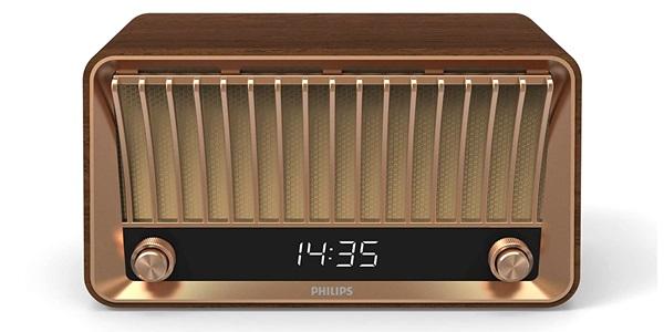 Philips Vs700 Houten Retro Bluetooth Radio