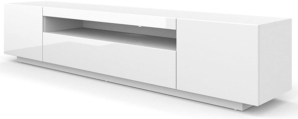 Bim Furniture Tv Meubel Wit 200 Cm