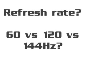 Verversingssnelheid Refresh Rate Th