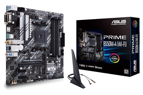 Asus Prime B550m A Wi Fi Beste Koop Ryzen 5 3600 Moederbord